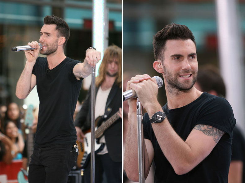 Adam Levine royalty images Today!